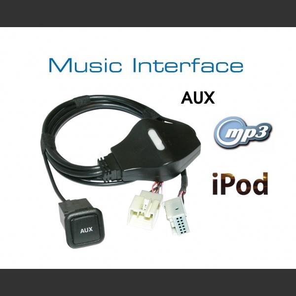 Kufatec Original Vw Audi Ipod Adapter With: OEM Innfelling Audi/Seat/Skoda/VW